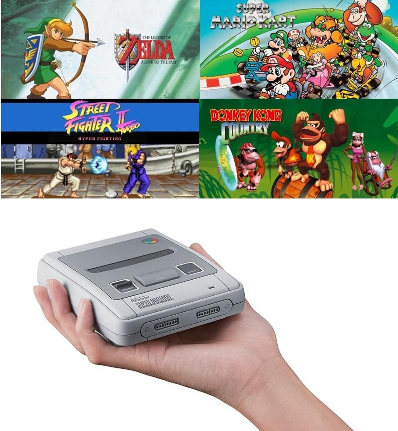 Consola Nintendo Classic Mini SNES (Super Nintendo)
