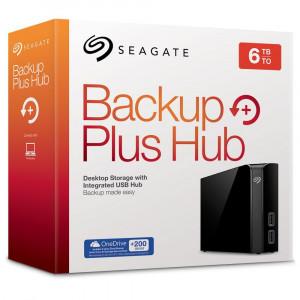 Disco duro externo de sobremesa Seagate Backup Plus Hub