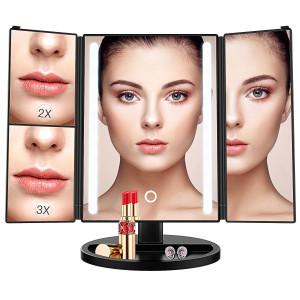Espejo de maquillaje con luz BESTOPE HZ119
