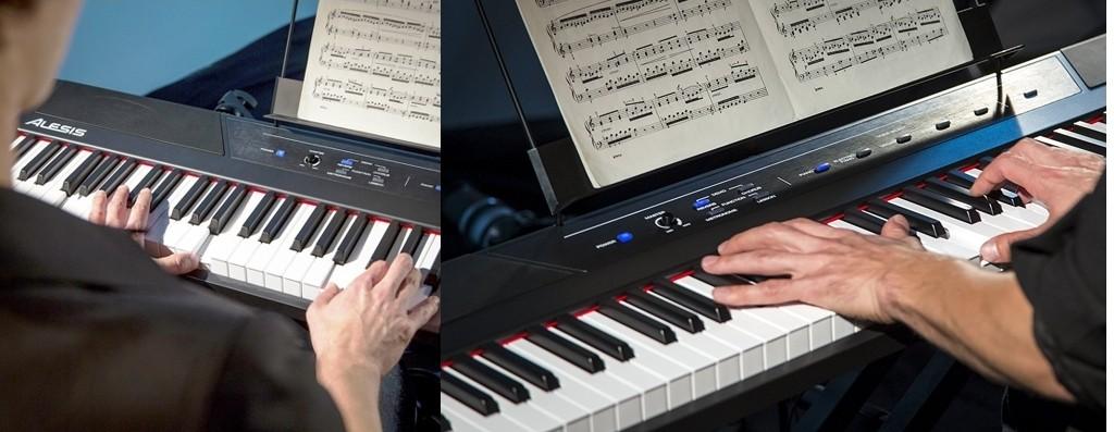Piano digital Alesis Recital para principiantes