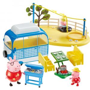 Playset acampada de vacaciones Peppa Pig