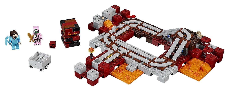 Tren del infierno coleccion Lego Minecraft 21130