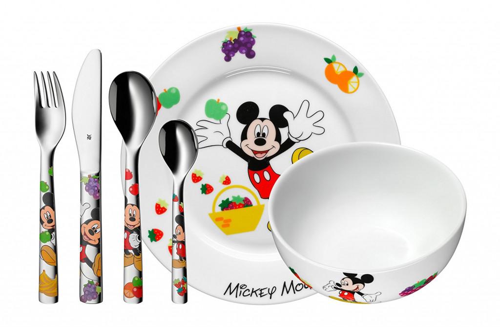Vajilla infantil de 6 piezas Mickey Mouse WMF