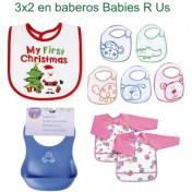 3x2 en todos los baberos Babies R Us