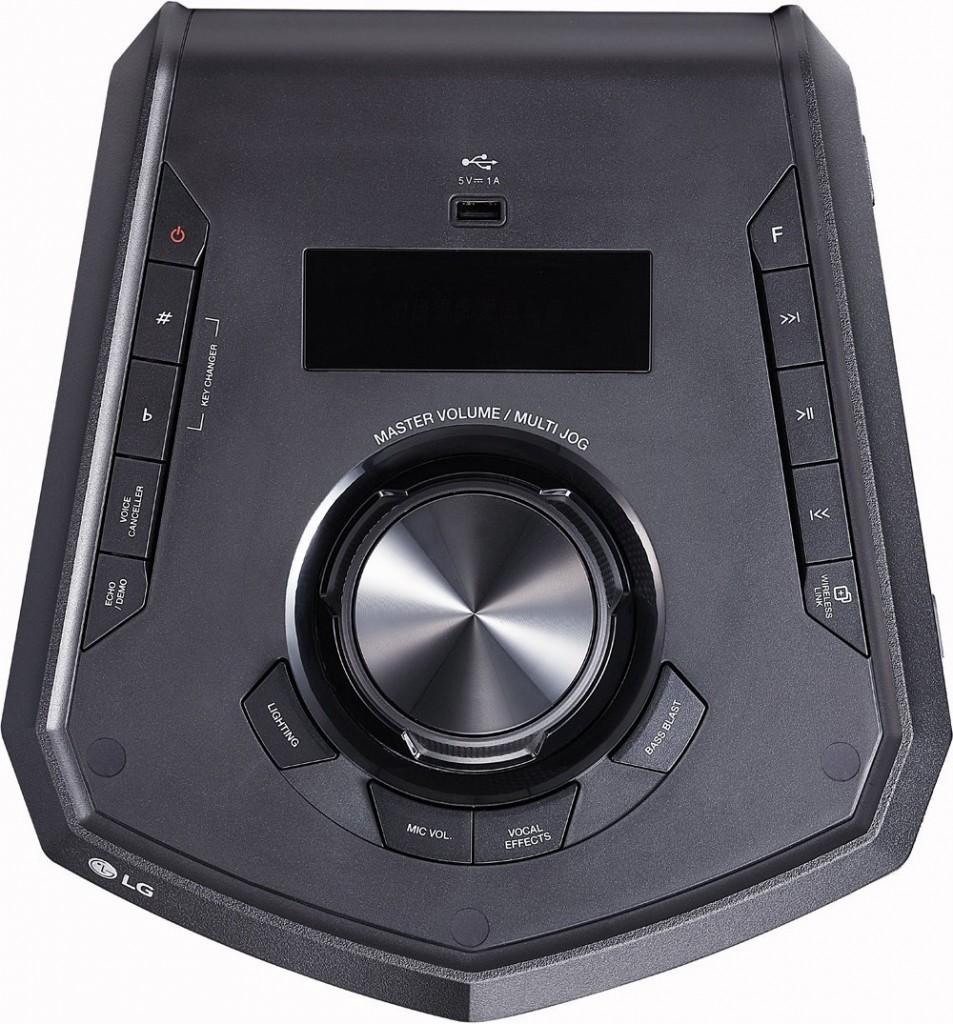 Altavoz - LG FJ5 controles