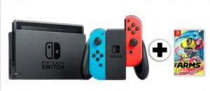 Consola Nintendo Switch + el juego Arms