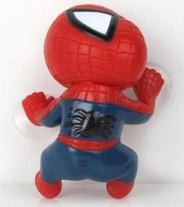 Figura Spiderman con ventosas para el coche