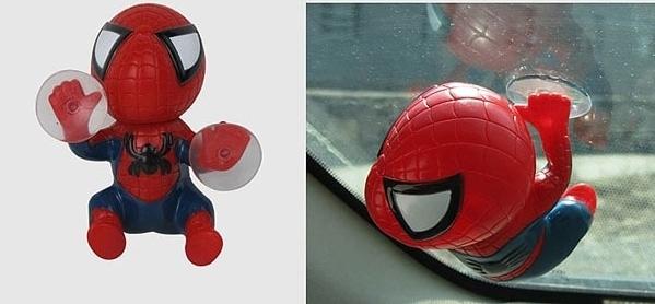 Figura Spiderman con ventosas