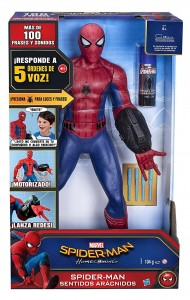 Figura Spiderman sentidos arácnidos Marvel Disney de Hasbro