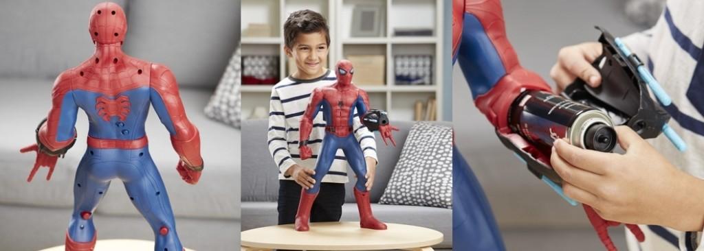 Figura Spiderman sentidos arácnidos Marvel Hasbro