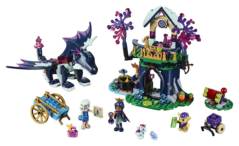 Guarida de sanación de Rosalyn LEGO Elves 41187 contenido