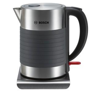 Hervidor de agua de acero inoxidable Bosch TWK7S05