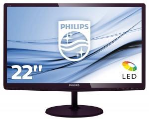 Monitor de 22 pulgadas Philips 227E6LDAD00 con altavoces incorporados