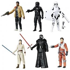 Pack 6 figuras Battle Star Wars de Hasbro
