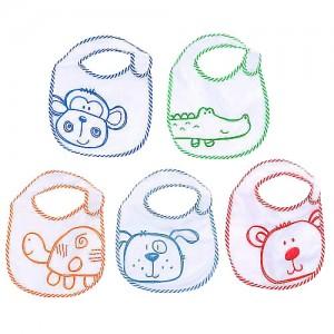 Pack de 5 baberos Babies R Us