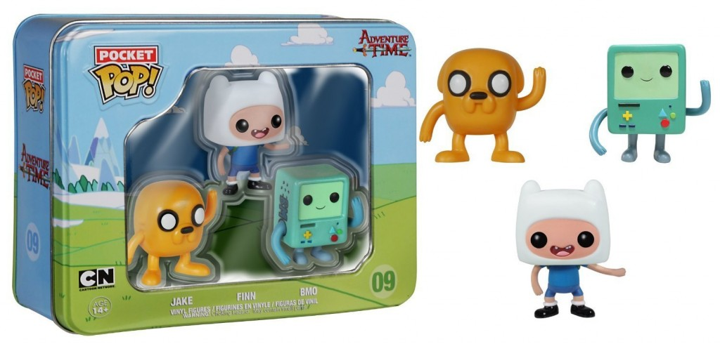 Pack minifiguras Funko Pop Hora de aventuras