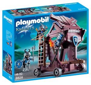 Torre de ataque de los Caballeros del Halcón Playmobil Knights 6628