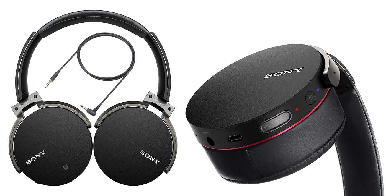 Auriculares Sony MDR-XB950B1B