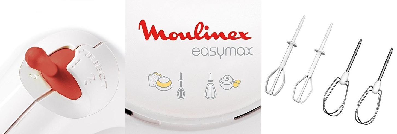 Batidora de repostería Moulinex Easy Max Power ABM11A30