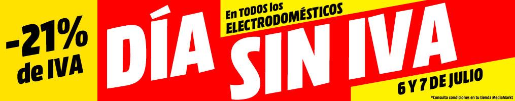 Día sin IVA electrodomesticos