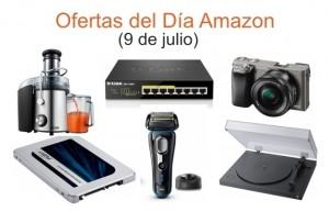 Ofertas del Día Amazon (9 de julio)