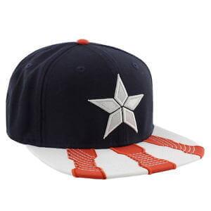 Pack Capitán América Marvel gorra
