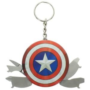 Pack Capitán América Marvel llavero multiusos