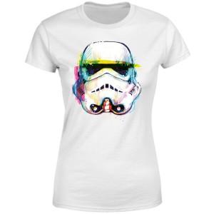 Camiseta STAR WARS STORMTROOPER Arte Pincel modelo para mujer