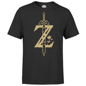 Camiseta The Legend of Zelda Espada Maestra modelo para hombre