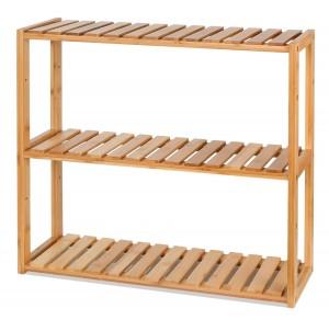 Estantería de bambú Homfa con estantes ajustables