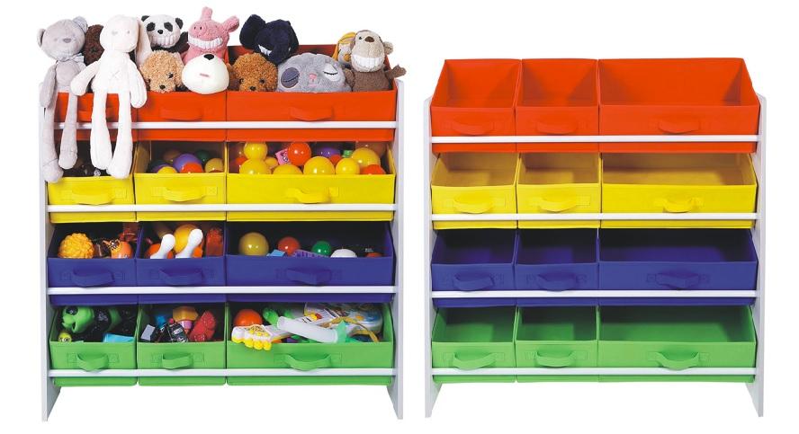 Organizador juguetes Songmics GKR16W