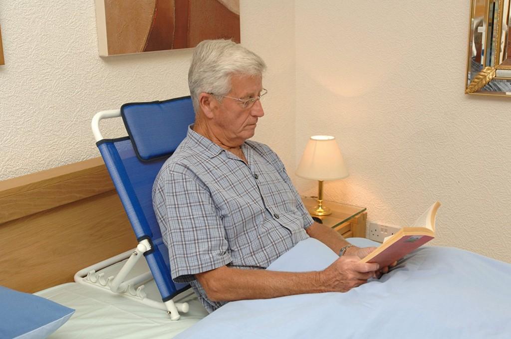 Respaldo ajustable NRS Healthcare L98229 azul