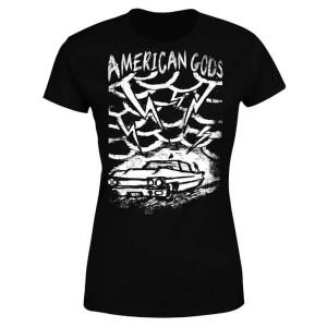 Camiseta American Gods para mujer