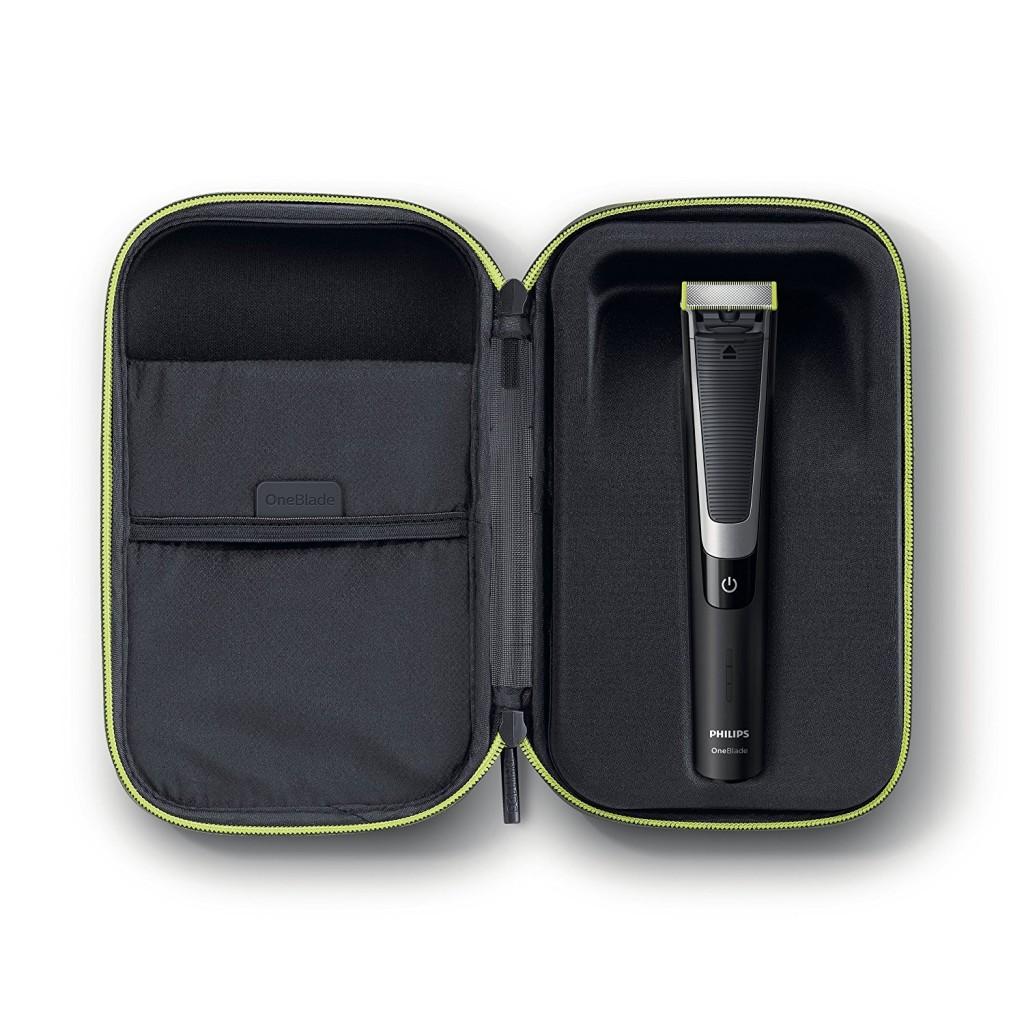Philips OneBlade Pro QP6510 64 con estuche de viaje