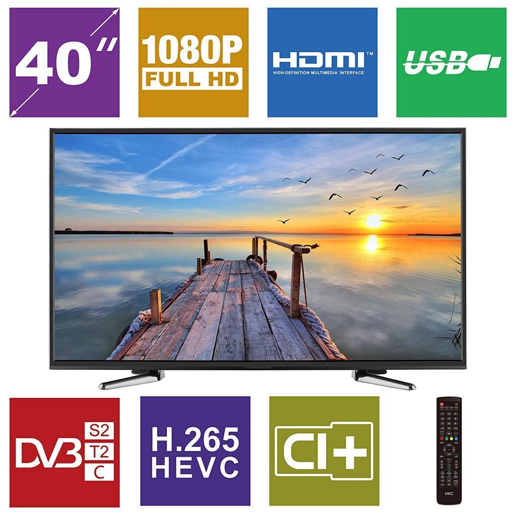 Televisor LED de 40 pulgadas HKC 40K7A-A2EU