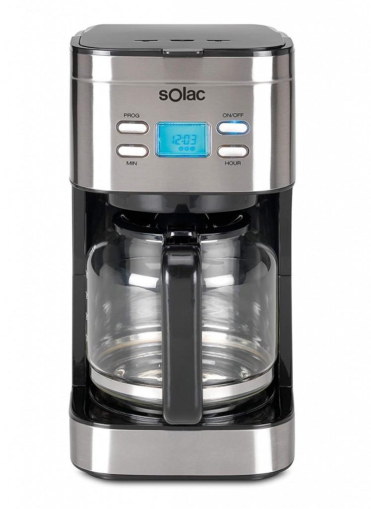Cafetera de goteo programable Solac Stillo CF4028
