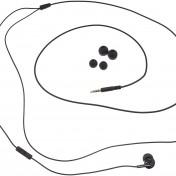 Auriculares intraurales con micrófono AmazonBasics 17E12-PK negro