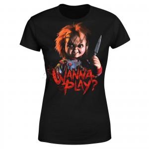 Camiseta de Chucky modelo para mujer