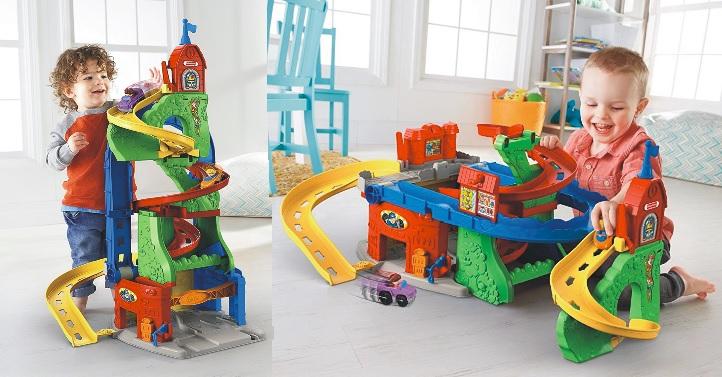 Ciudad de cochelandia Little People DFT71 en horizontal o vertical