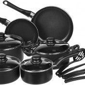 Juego de utensilios de cocina antiadherentes AmazonBasics