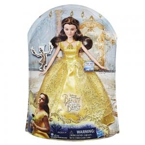 Muñeca Bella cantarina de La Bella y la Bestia