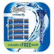 Pack Wilkinson Sword Hydro 5 maquinilla de afeitar + 12 recambios