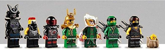 Templo de la resurrección LEGO Ninjago 70643 minifiguras