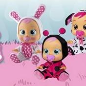 Bebés llorones, varios modelos