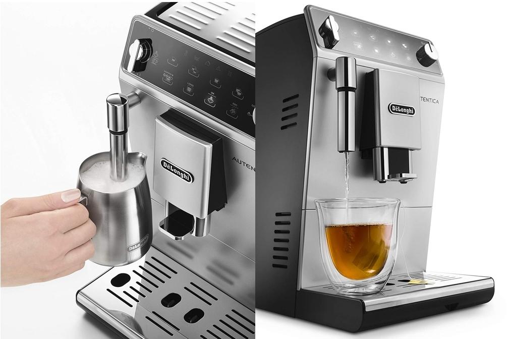 Cafetera superautomática DeLonghi ETAM29.510.SB con vaporizador tradicional