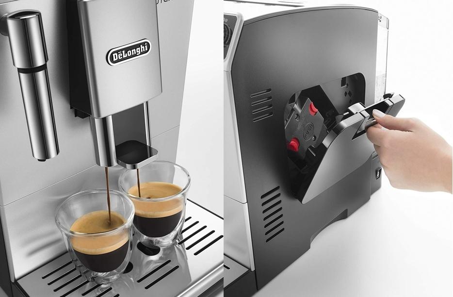 Cafetera superautomática DeLonghi ETAM29.510.SB depósito para granos de café
