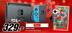 Consola Nintendo Switch + juego Super Mario Odyssey