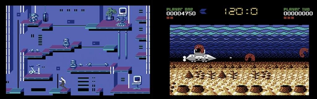 Consola The C64 Mini juegos