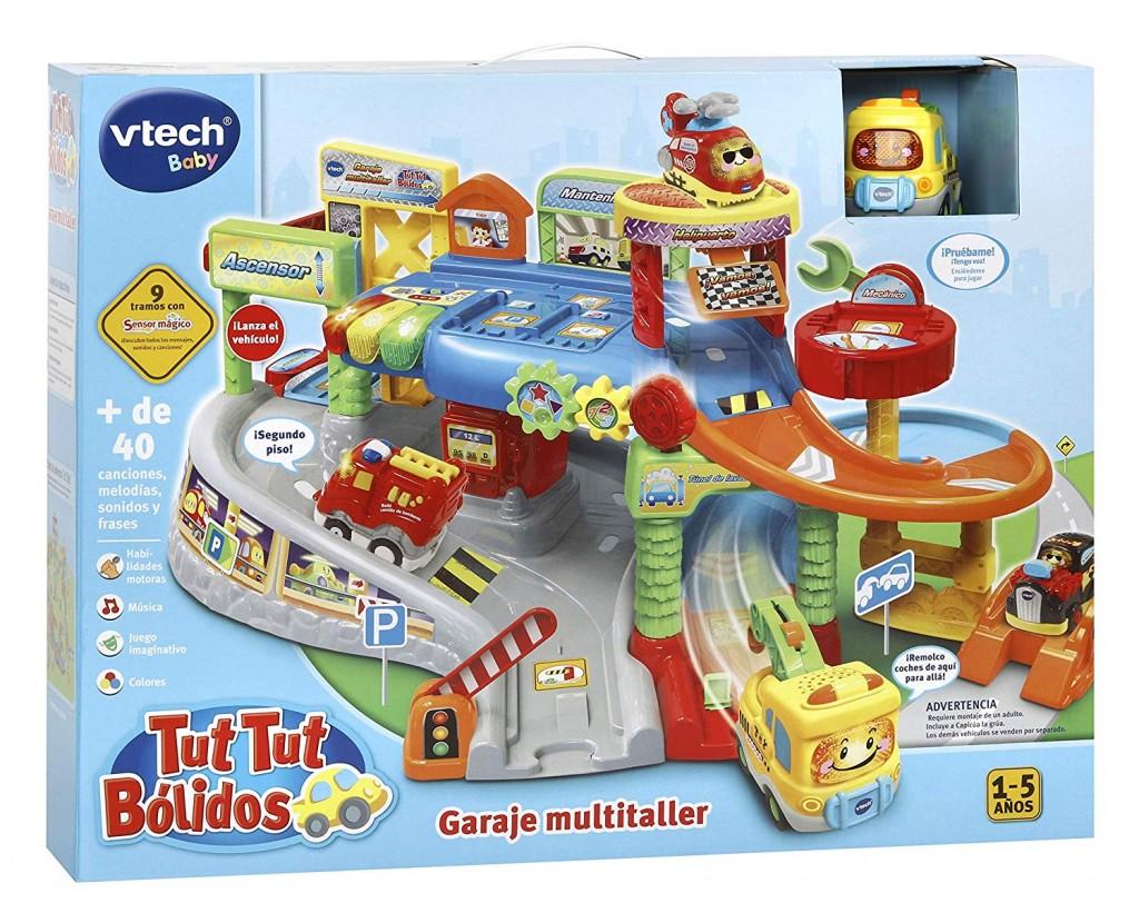 Garaje multitaller VTech Tut Tut Bólidos