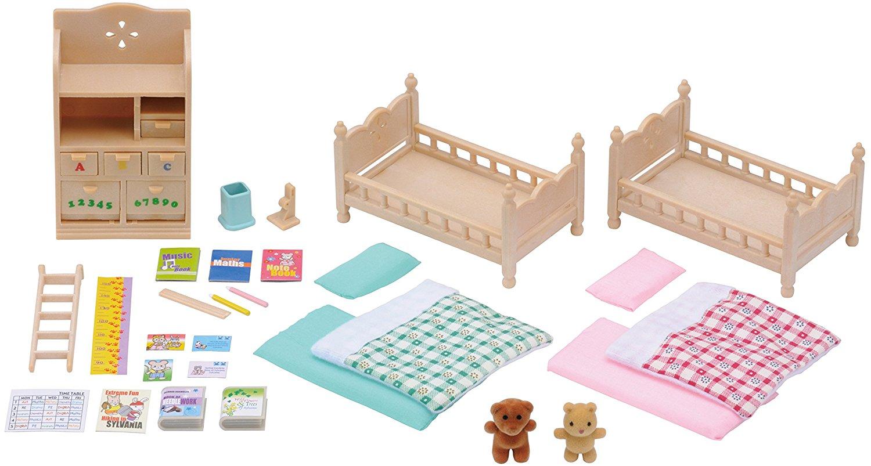 Muebles habitación de los niños Sylvanian Families 4254 contenido